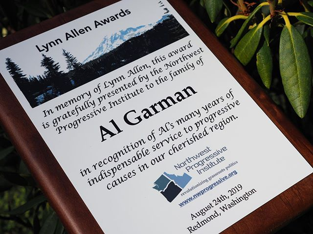 On Saturday, August 24th, we will present the family of @Al_Garman with NPI's highest honor: a Lynn Allen Award. Join us at Redmond's Perrigo Park as we recognize Al's incredible legacy! https://npi.li/picnic