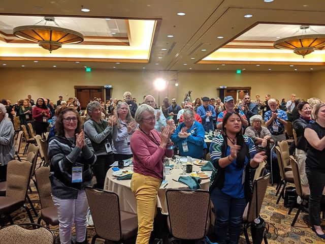 Progressive activists come to the biennial #OregonSummit to be inspired, and this year's gathering is certainly giving them that opportunity
