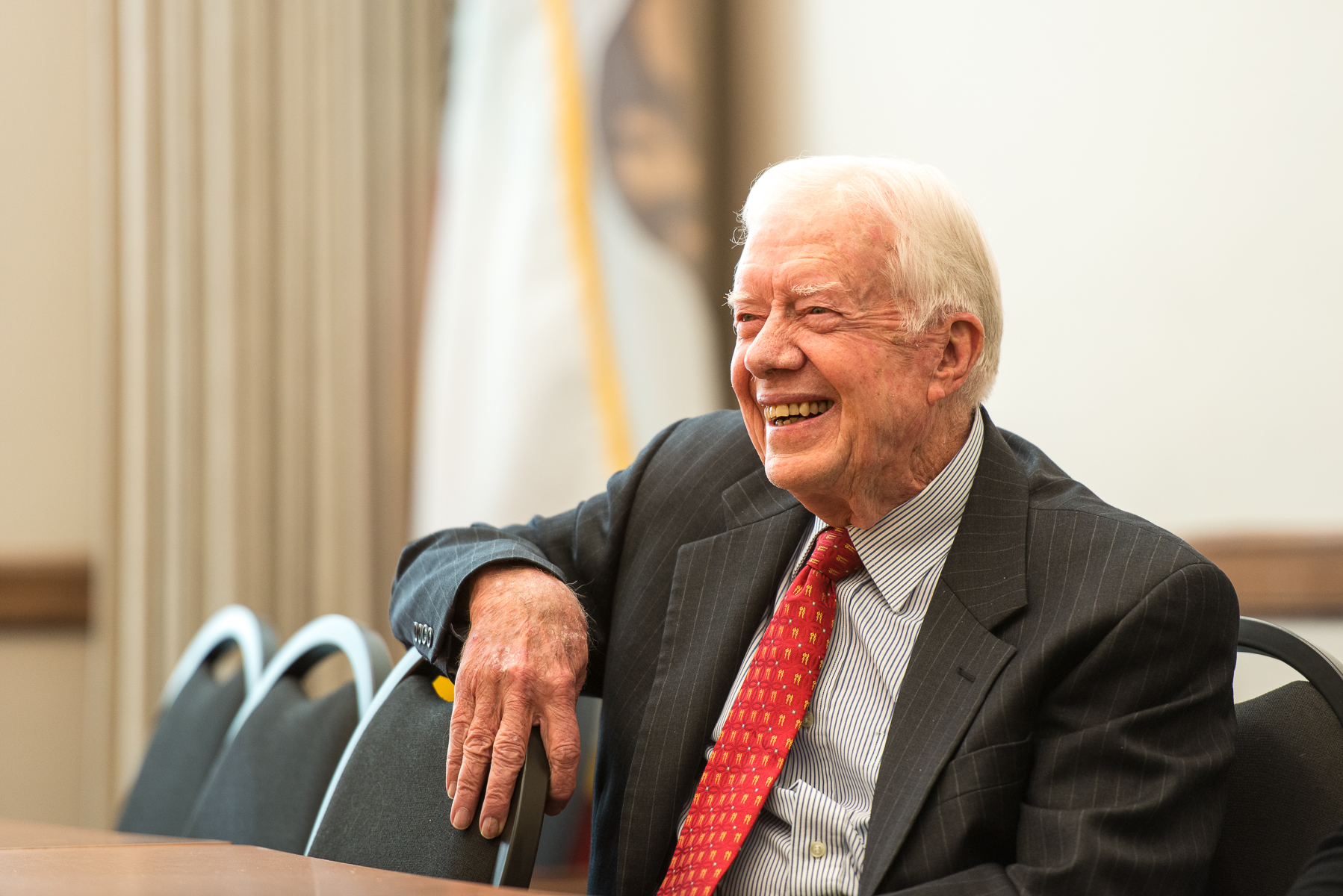 President Carter at the Commonwealth Club