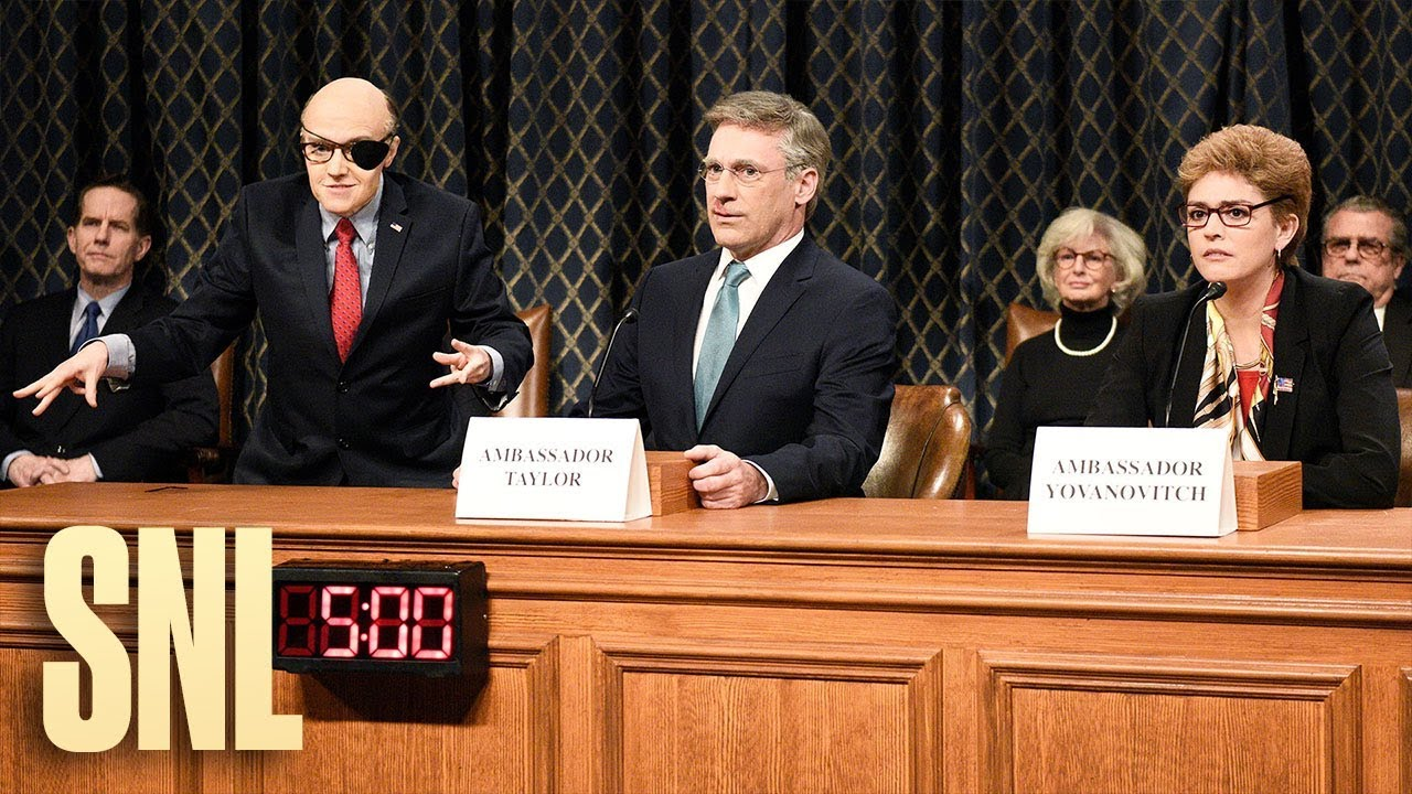 SNL's impeachment hearings cold open