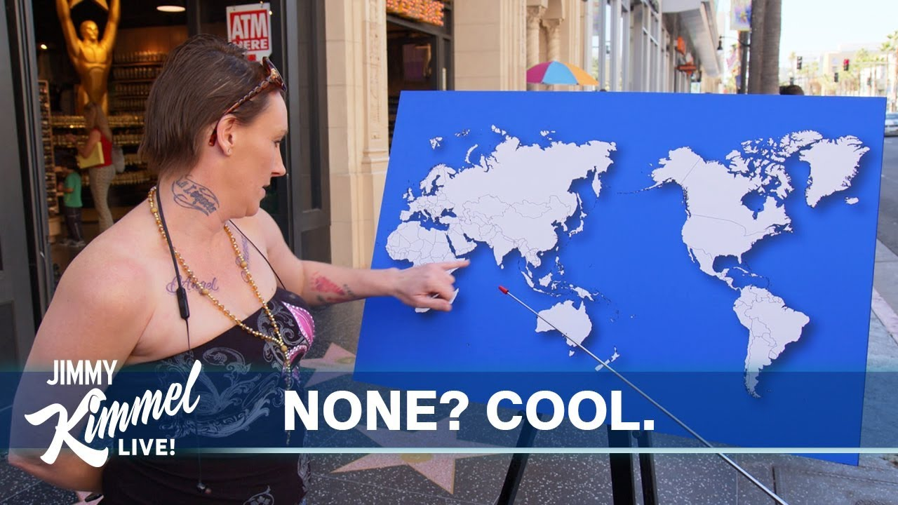 Republicans can't identify any countries on a world map