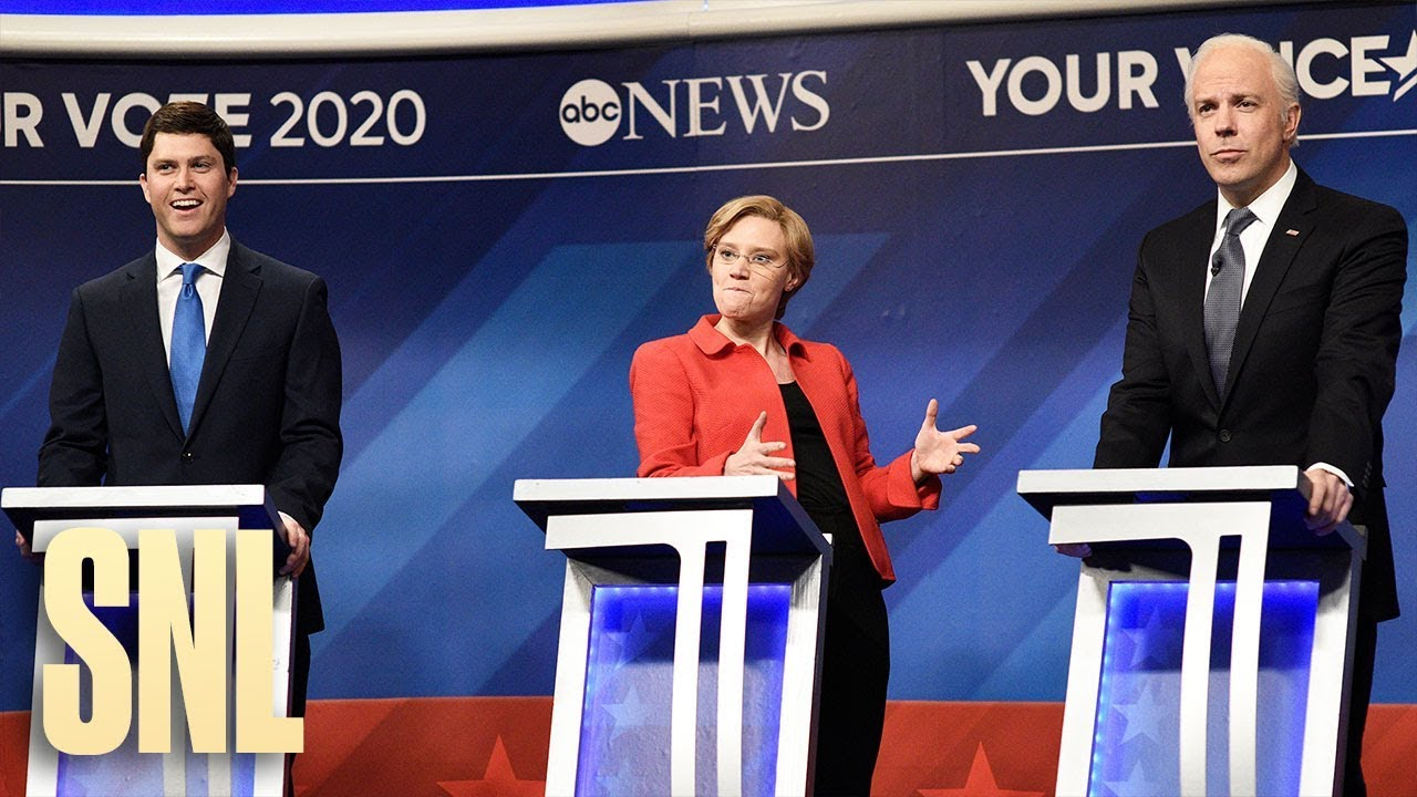 SNL spoofs the eighth 2020 Democratic debate