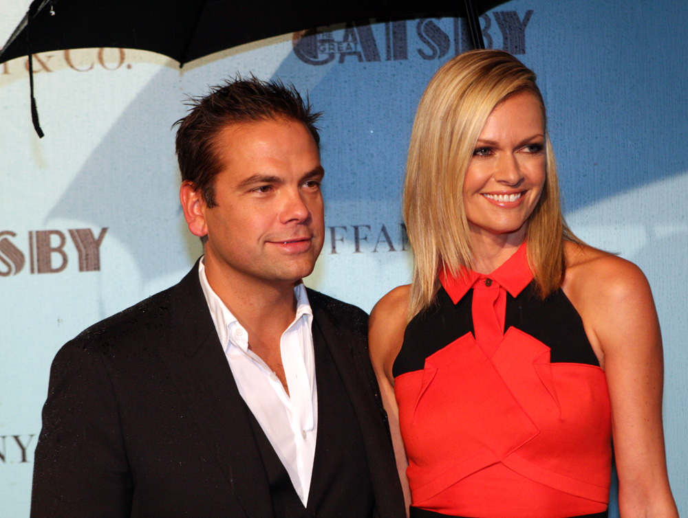Lachlan and Sarah Murdoch