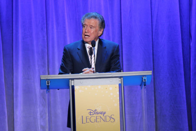 Television personality Regis Philbin