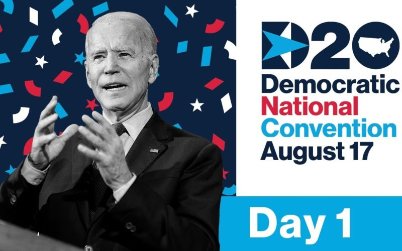 Day One: The 2020 Democratic National Convention