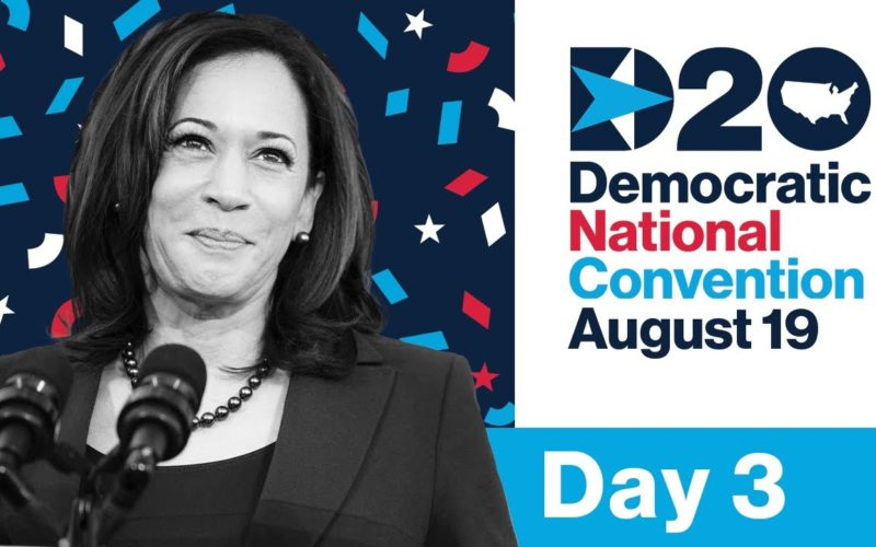 Day Three: The 2020 Democratic National Convention