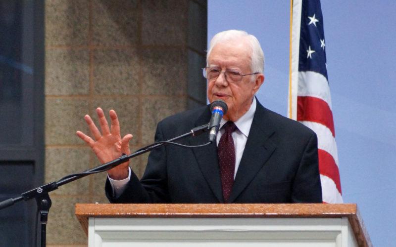 Jimmy Carter speaking