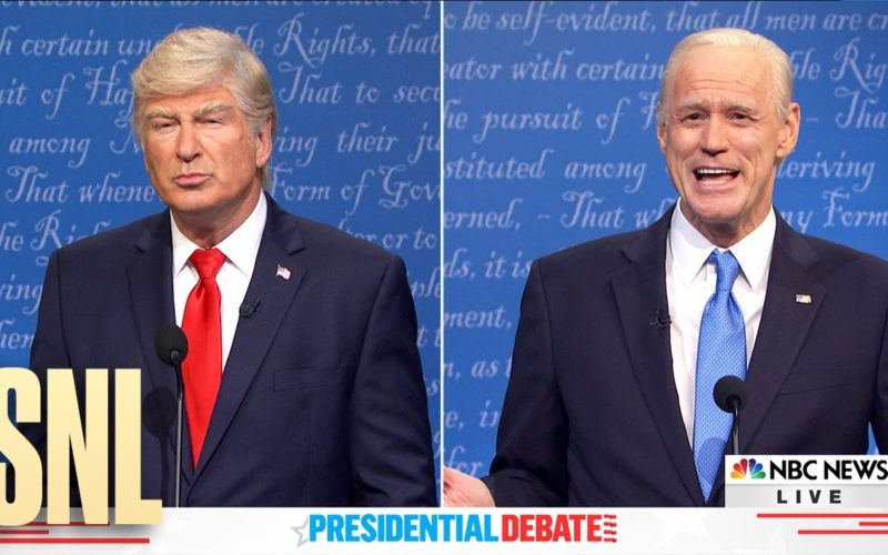 SNL spoofs the final presidential debate
