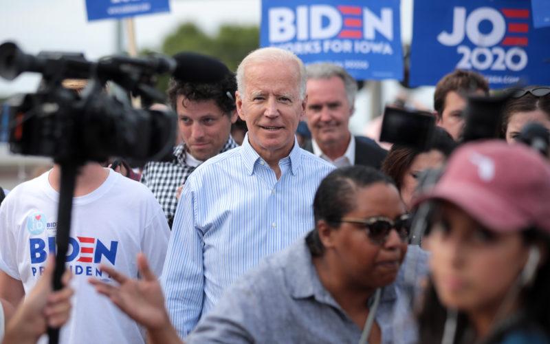 Biden campaigns in Iowa in 2019