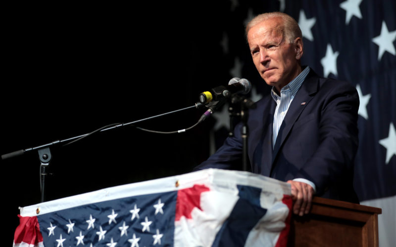 Joe Biden speaks to Iowa Democrats in 2019