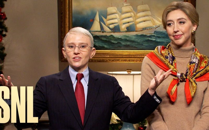 SNL December 12th cold open spoofing Anthony Fauci and Deborah Birx