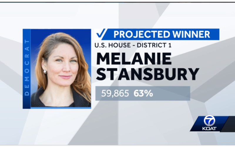 Projection: Melanie Stansbury wins