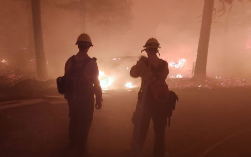 Firefighting in the Pacific Northwest, summer 2021