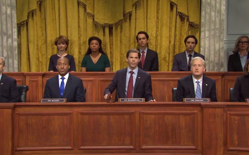 Facebook hearings cold open (SNL)