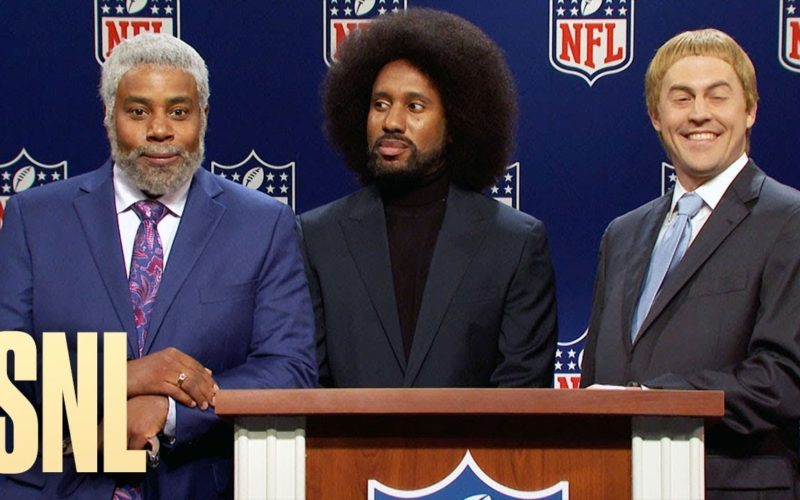 SNL spoofs the NFL in October 16th cold open