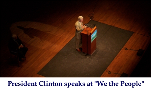 Clinton Speaks At We The People