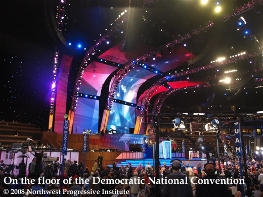 View of the convention floor