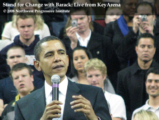 Barack Obama Addresses Rally