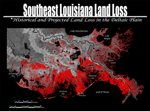 Louisiana Land Loss