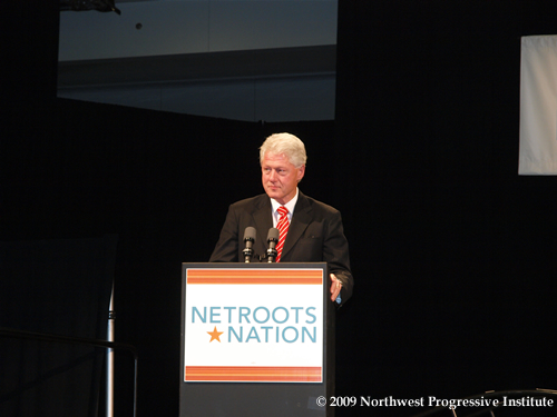 President Bill Clinton Addresses Netroots Nation