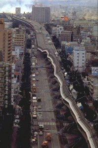 Kobe Earthquake: The Destroyed Expressway