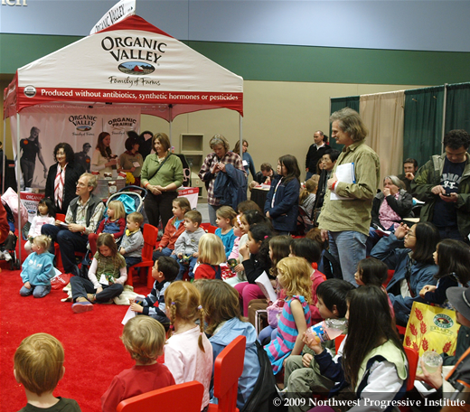 Children at the Seattle Green Festival