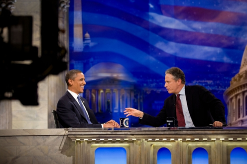 President Obama sits down with The Daily Show's Jon Stewart