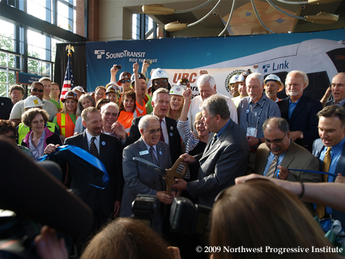 Link Light Rail Ribbon Cutting