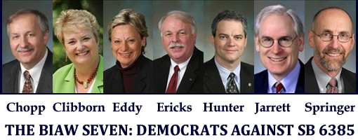 The BIAW Seven: Democrats Against SB 6385