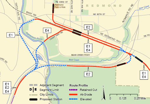 East Link Redmond Alternatives