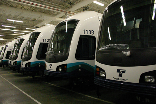 Sound Transit Link Light Rail Cars