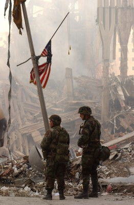 National Guard at the World Trade Center