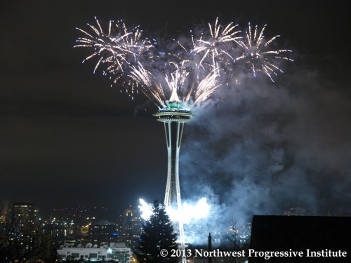 New Year's at the Needle 2013