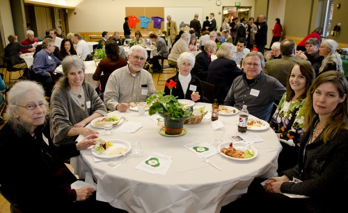 Supporters at NPI's 2012 Spring Fundraising Gala on Mercer Island (Photo by Lincoln Potter/Samaya LLC)