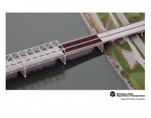 Skagit River Bridge visualization
