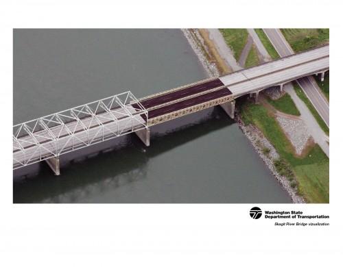 Skagit River Bridge visualization