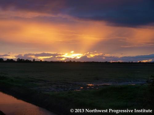 A Tsawwassen sunset