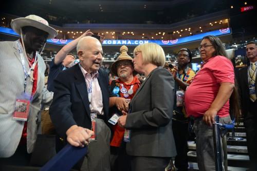 Tom Foley and Patty Murray