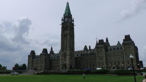 Parliament Hill, in Ottawa