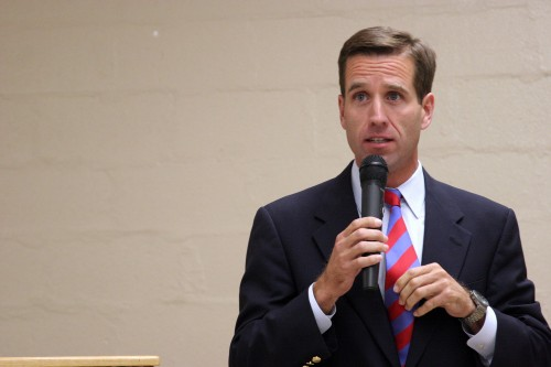 Beau Biden speaking on the campaign trail