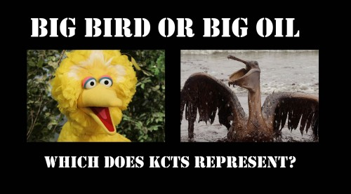 Big Bird or Big Oil: Which does KCTS represent?