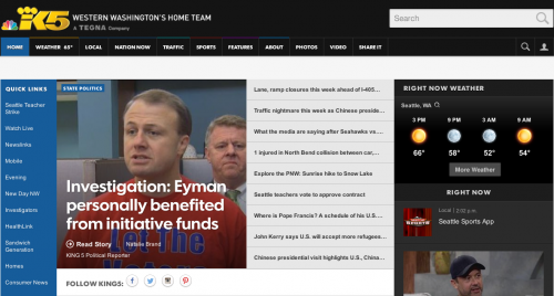 KING5: Eyman Personally Benefited From Campaign Funds