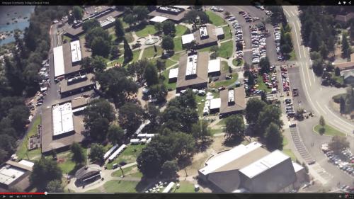 Aerial snapshot of Umpqua Community College
