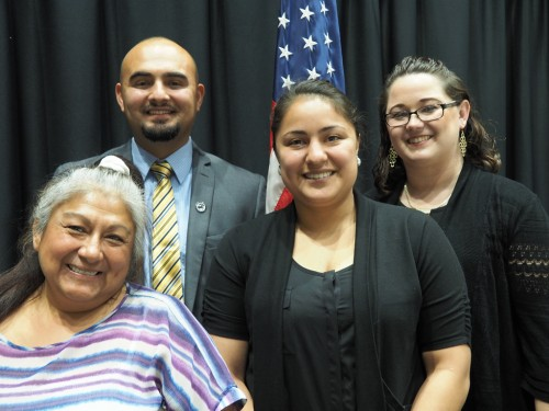 Yakima City Council candidates with Democratic leaders