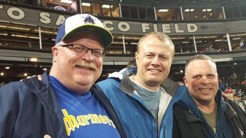 Tim Eyman at Safeco Field