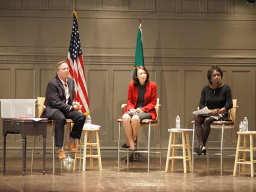 Maria Cantwell's town hall on net neutrality