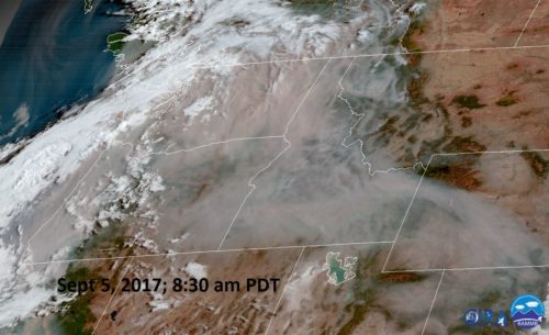 A very smoky Pacific Northwest