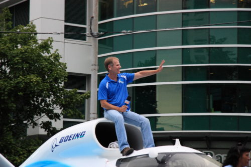 Hydroplane legend Chip Hanauer