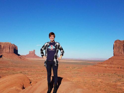 Alex Hendrickson in Monument Valley