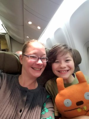 Off to Thailand! Alex Hendrickson and her daughter